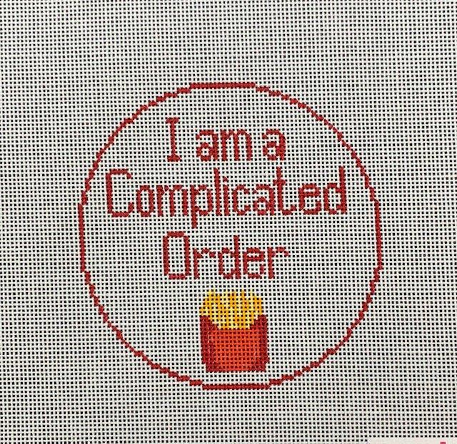I'm a Complicated Order Ornament