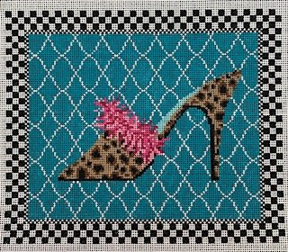 Oh La La Shoe with Stitch Guide