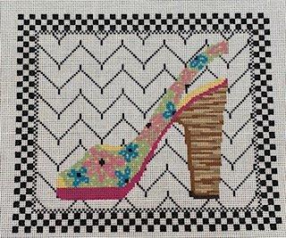 Fashionista Shoe with Stitch Guide