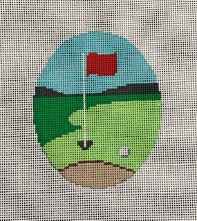 Golf Hole Ornament