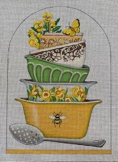 Flower Serving Bowls