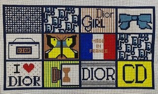 Everything Dior, Inspired Large Flat