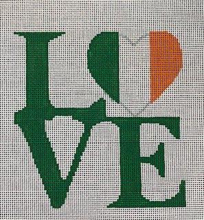 Love Irish Flag