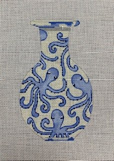 Blue Jardiniere Octopus