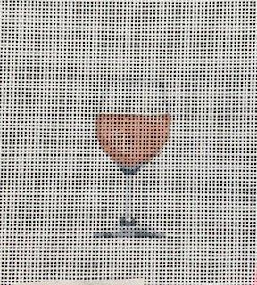 Mini Rose' Wine Glass