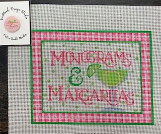 Monograms & Margritas with Magnet