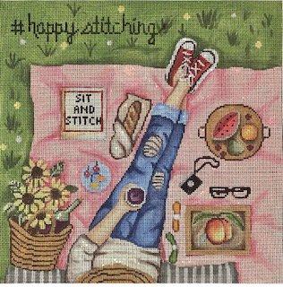 #Happy Stitching - Park