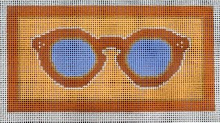 Dreamsicle Sunglass Case