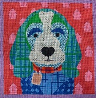 Blue Dog Patchwork