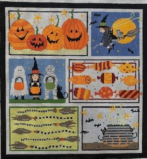 Halloween Sixes with Stitch Guide