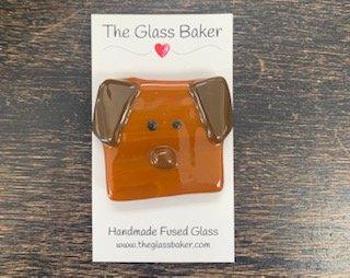 Fused Glass NM dog