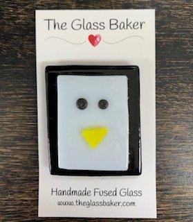 Fused Glass NM penguin