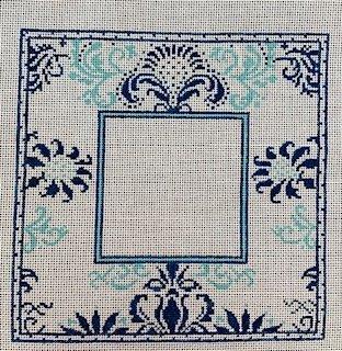 Blue/aqua Picture Frame