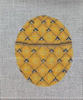 Yellow Fabrege' Egg