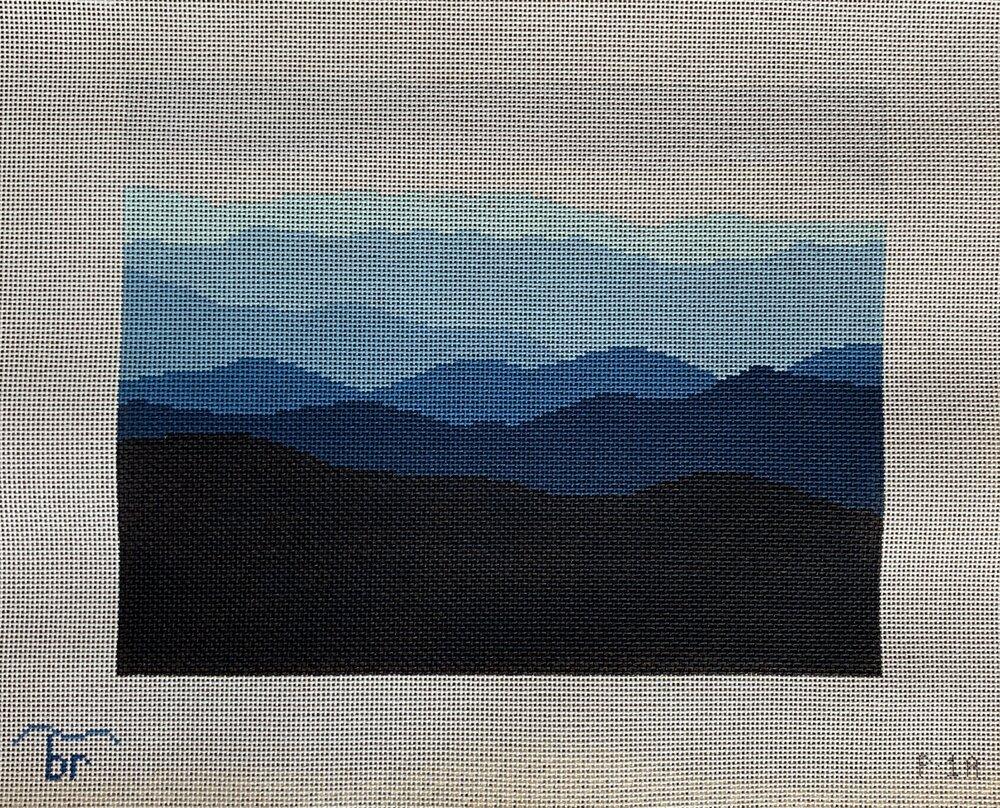 Blue Ridge Mountain Range - 13 mesh