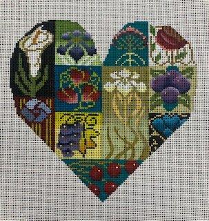Art Nouveau Heart