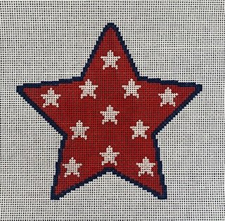 Star Ornament in Red