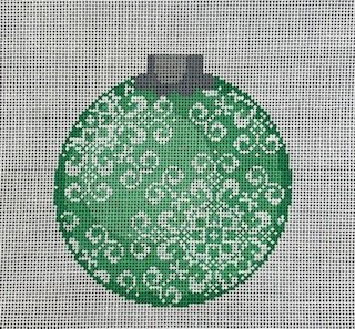 Snowflake Ornament - Green