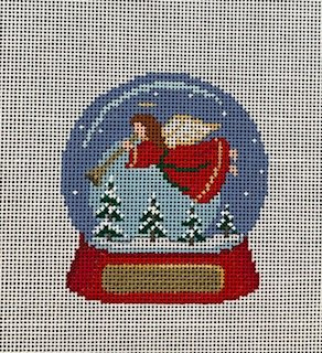 Angel Snow Globe