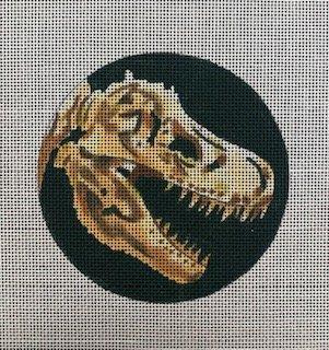 Dino Skull Black