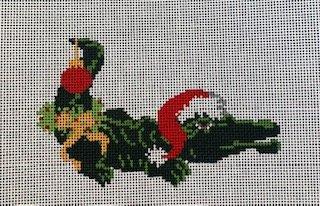 Christmas Aligator