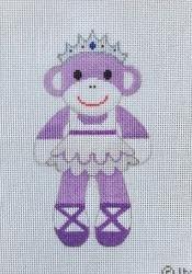 Ballerina Sock Monkey
