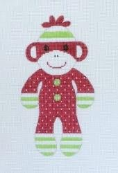 Christmas Sock Monkey