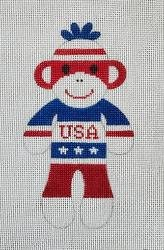 USA Sock Monkey