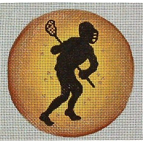 Lacrosse Player Ornament