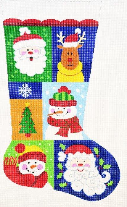 Christmas Sampler #2 Stocking