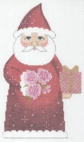 January Birthstone Santa