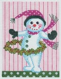 Hula Hoop Snowman