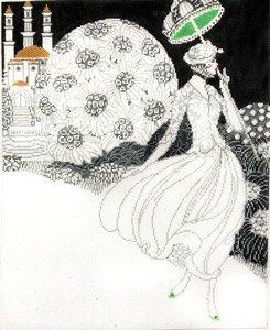 Black and White Garden Stroll **