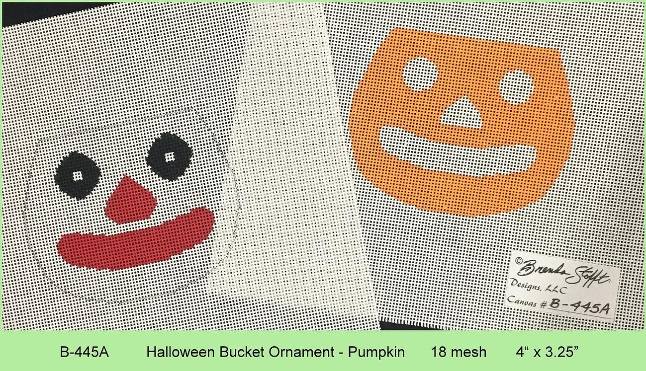 Halloween Pumpkin Bucket with Stitch Guide