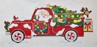 Santa's Red Truck