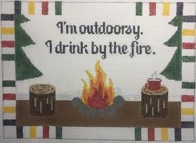 I'm Outdoorsy. I Drink by the Fire