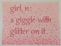 Girl, n: noun