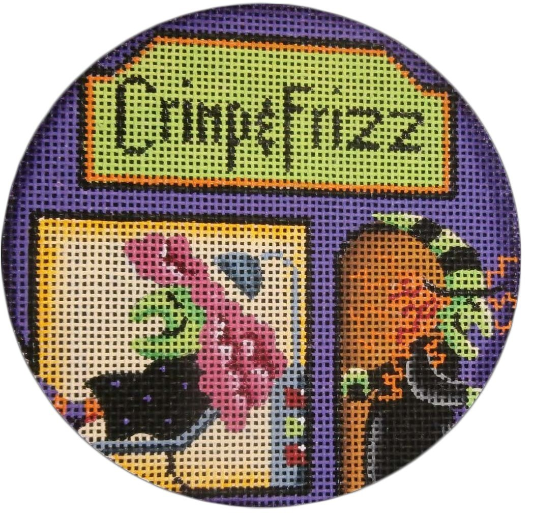 Crimp & Frizz Ornament