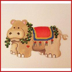Christmas Hippo