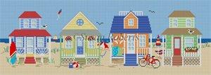 A  Row of Beach Houses