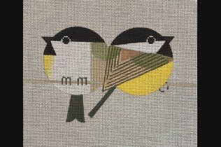 Two Chickadees with Stitch Guide