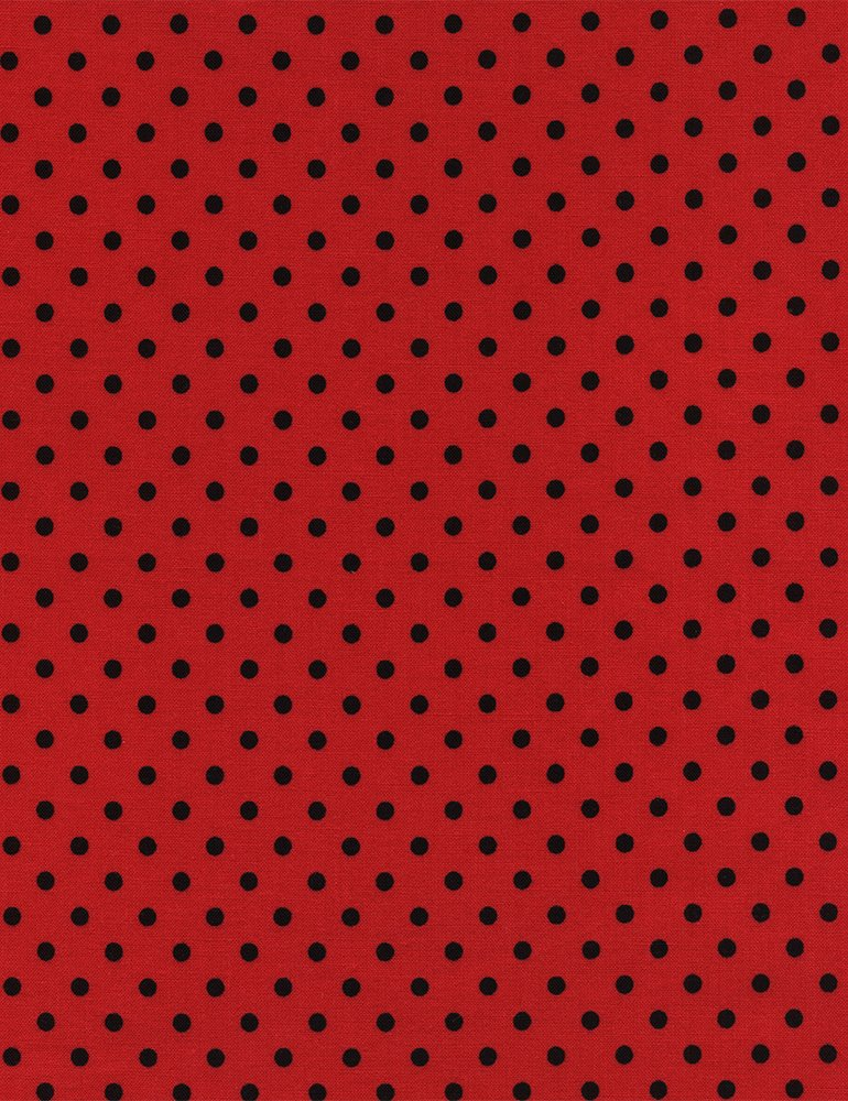 Lady Bug Red/Black Dot