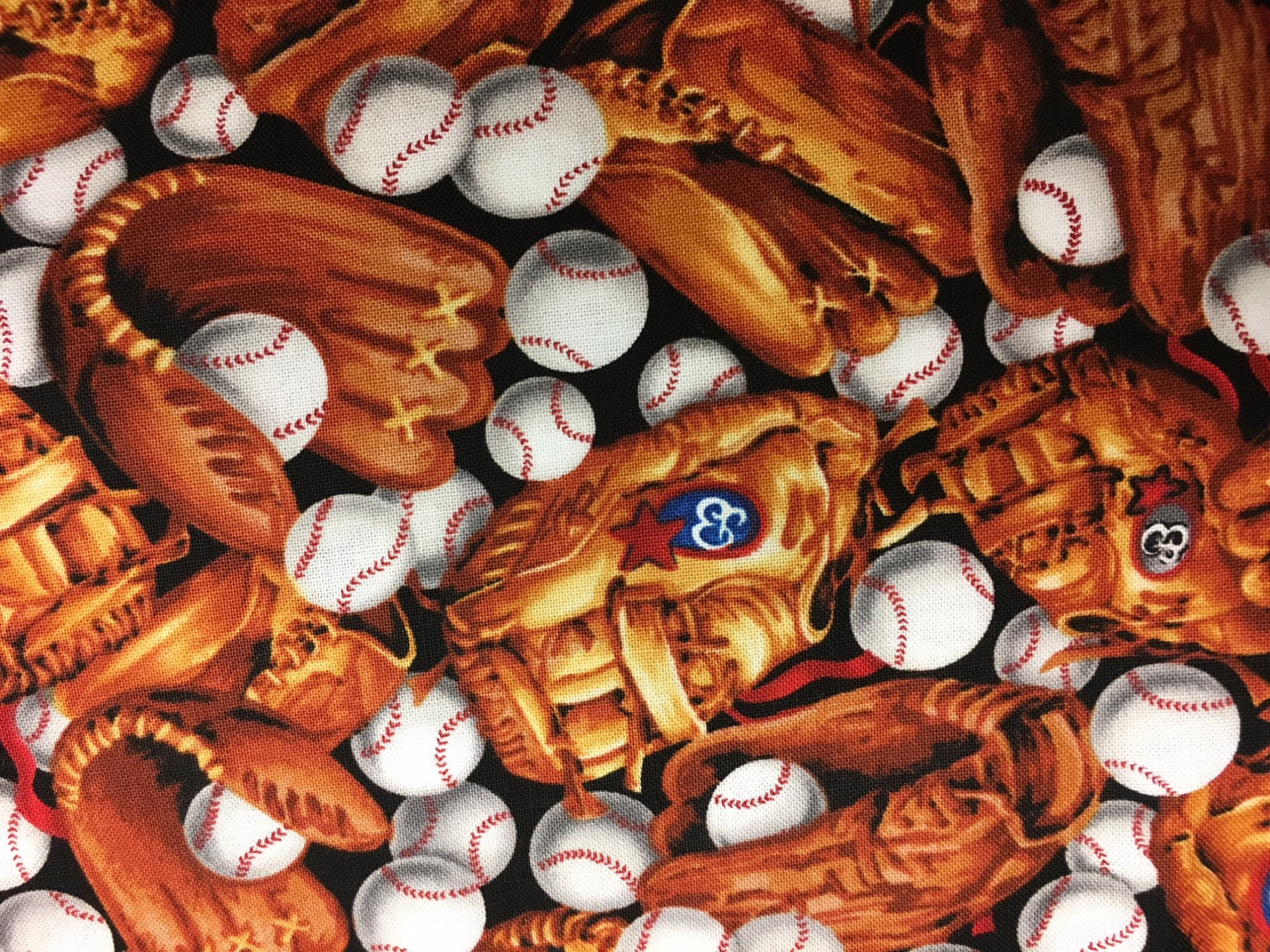 Sporting Baseballs & Gloves