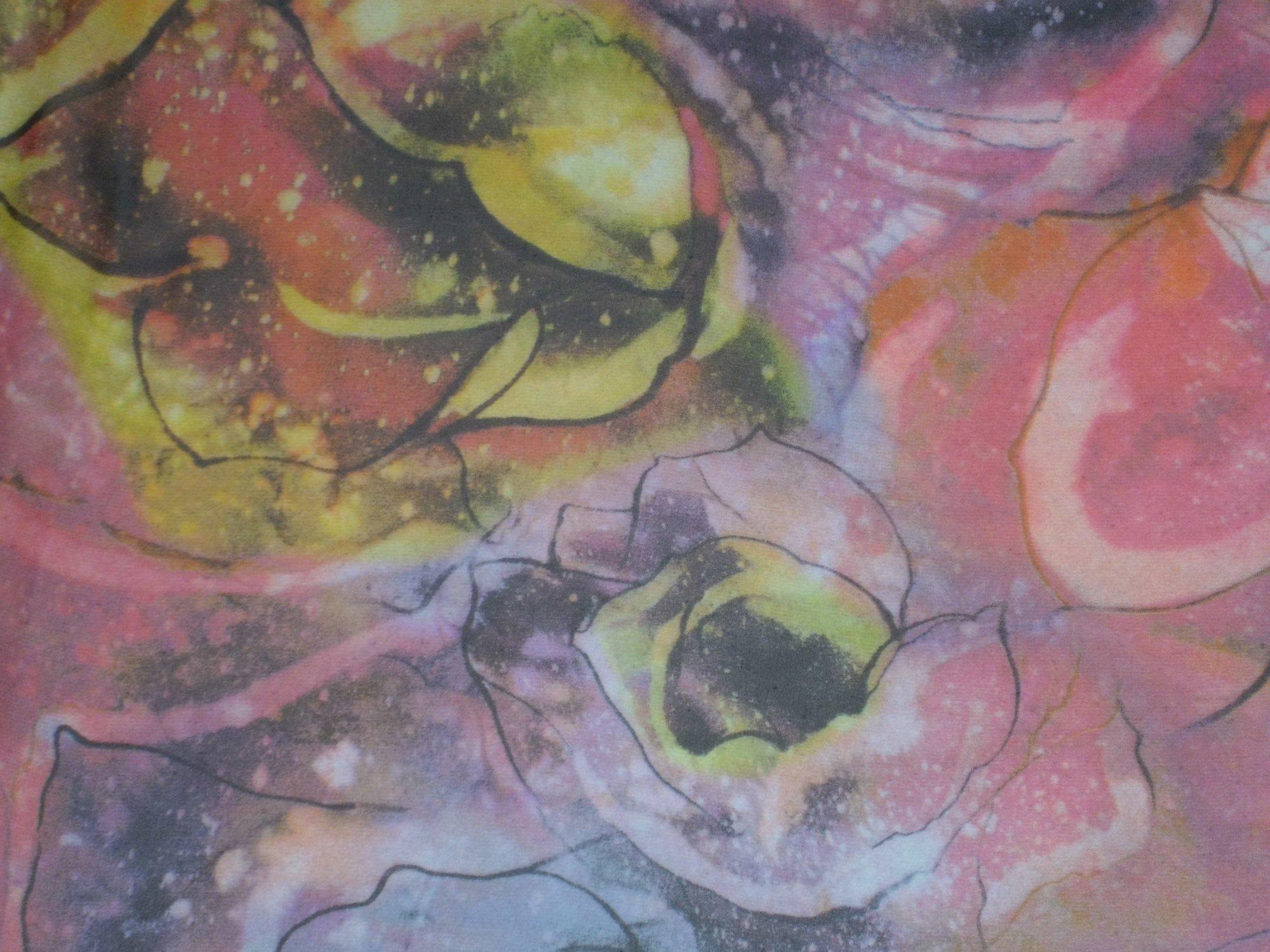 Rayon Chiffon Floral Print
