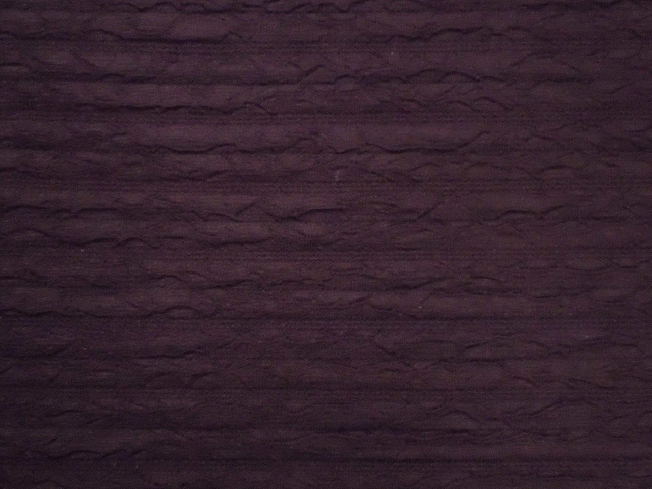 Crinkle Doubleknit Polyester & Lycra in Wineberry
