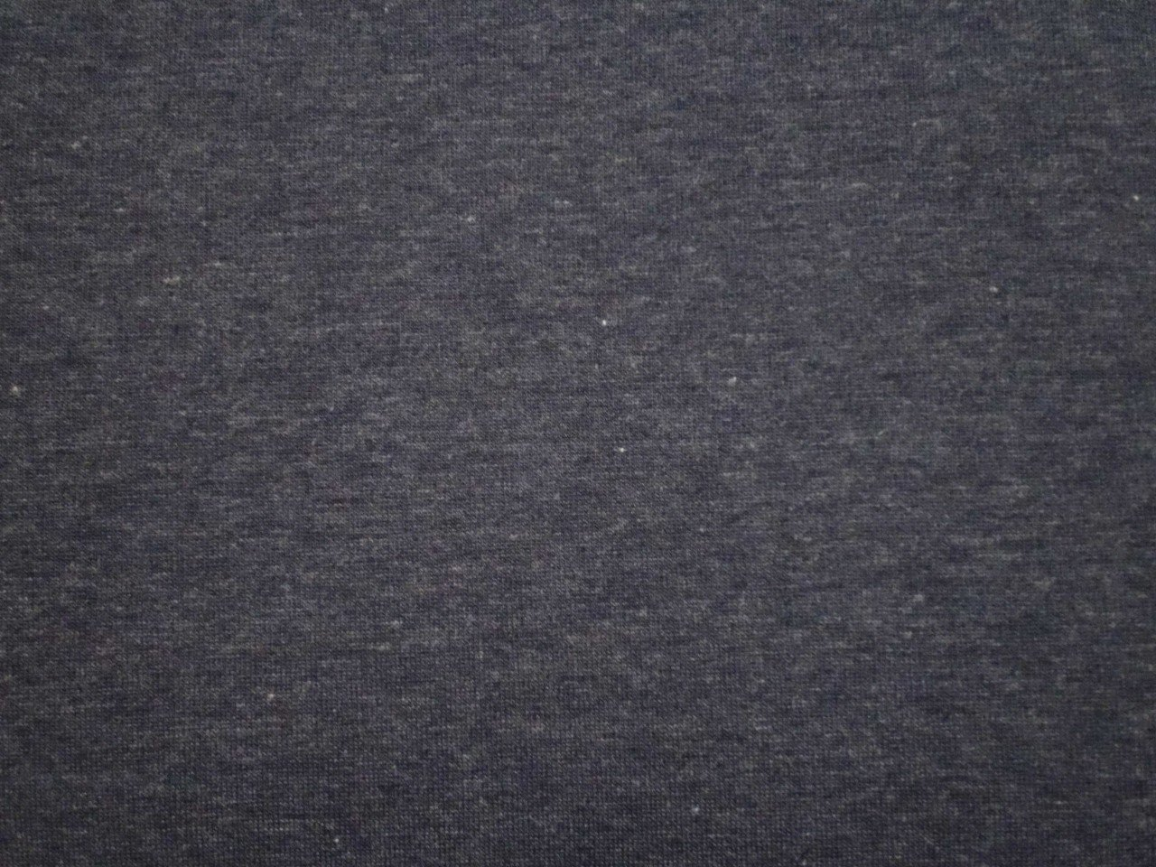 Rayon & Spandex Jersey Knit in Navy Heather