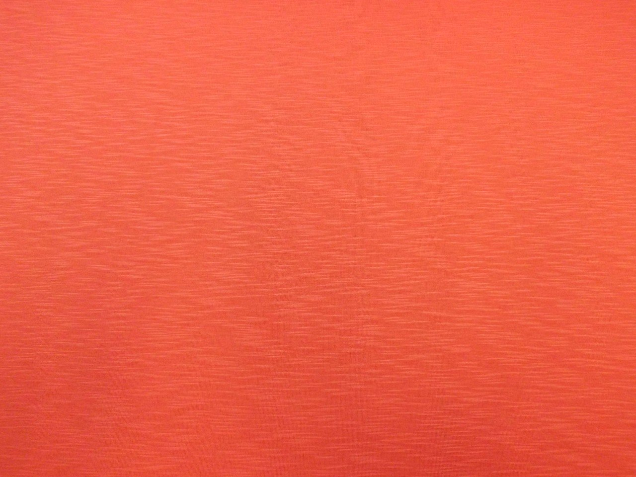 Rayon and Spandex Jersey Slub in Coral