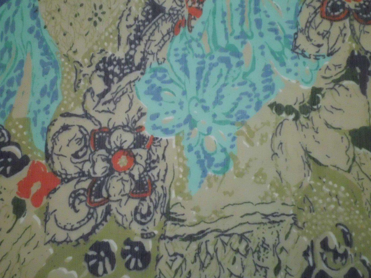 Polyester Crinkle Chiffon Print