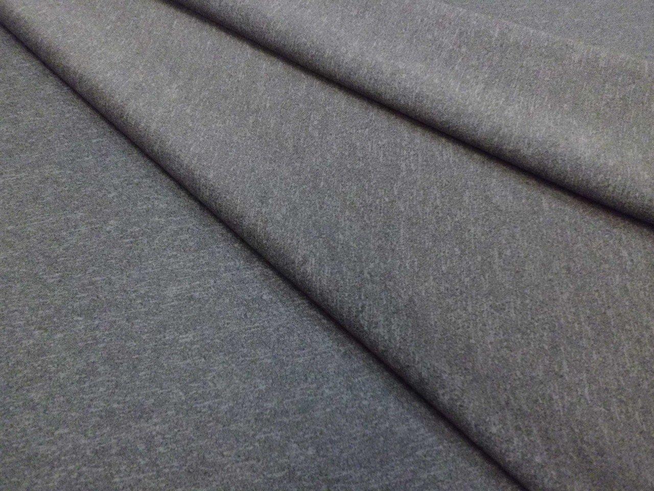 Scuba Knit in Heather Grey