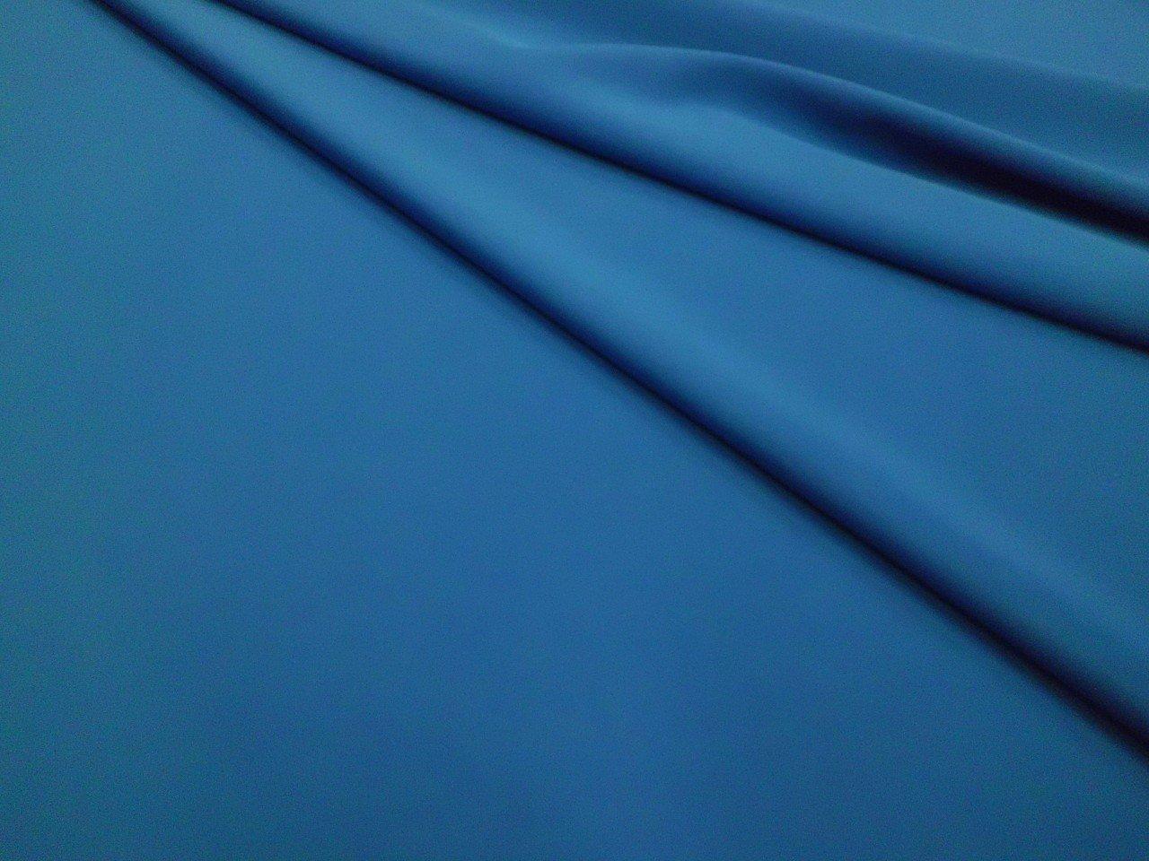 Polyester & Lycra Techno Knit in Royal